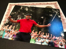 TIGER WOODS GENUINE SIGNED PHOTO AUTHENTIC AUTOGRAPH WITH COA