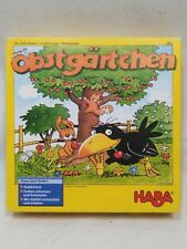 Obstgärtchen (The Little Orchard) Board Game Haba Complete