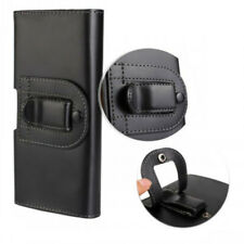 For Huawei P9, G8 Black Leather Belt Clip Case Cover For Tradesman Workman