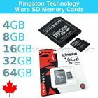 Kingston 4/8/16/32/64GB Micro SD SDXC MicroSD TF Class 4 Advanced Memory Card
