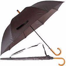 Herren Regenschirm Fischgräten-designe Stockschirm Schirm FT05