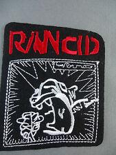 Rancid emroidered  iron on /sew on badge