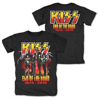 Kiss End Of The Road Tour 2019 Official Merch T-Shirt M/L/XL/2XL - NEU