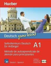 Deutsch ganz leicht A1 von Renate Luscher (2018, Set mit diversen Artikeln)