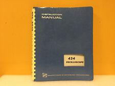 Tektronix 070 1131 00 434 Oscilloscope Instruction Manual