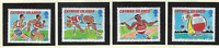 Cayman Islands Stamps Scott #699 To 702, Mint Never Hinged