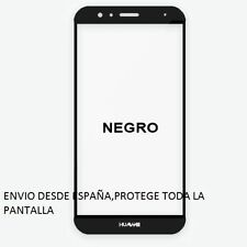PROTECTOR COMPLETO PANTALLA DE CRISTAL TEMPLADO PARA HUAWEI G8 Color NEGRO