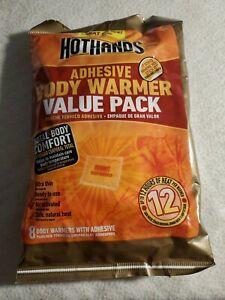 Hothands Adhesive Body Warmer 8pk exp. 11/23