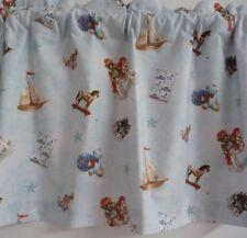 1.57m  x 35cm Valance Curtain Baby Nursery Children Rocking Horse Yachts Bears