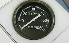 WILLYS MB EARLY SPEEDOMETER CORRECT FONTS AND LUMINOUS NEEDLE NOT SLAT GRILL