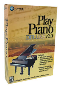 How to Play the Piano DVD-Rom Self-Paced Beginner Instructions - 40+ lessons