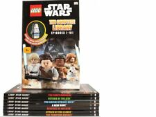 Disney LEGO Star Wars Complete Library 7 Books With Special Forces Figure - NEW