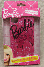 BARBIE GLAMTASTIC iPhone 4 / 4S Hardshell Case Cover Pink NEW IN PACKA