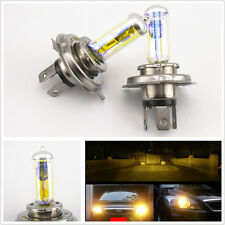 3000K Yellow Golde Eye H4 9003 HB2 100/90W HID Headlight High Low H/L Beam Bulbs