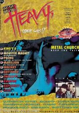 Magazin Heavy 2/1994,Metal Church,King´s X,Therapy?,Kreator,Gotthard,Monster Mag