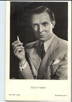 ERICH FIEDLER Schauspieler ca. 1950/60 Porträt-AK Postkarte Film Foto Verlag