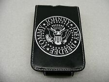 RAMONES - MAN MADE LEATHER - IPOD MP3 PLAYER FLIP OPEN CASE!
