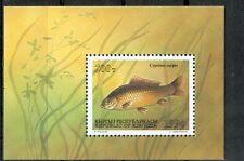 PESCI D'ACQUA DOLCE - FRESH WATER FISHES KYRGYZSTAN 1994 block