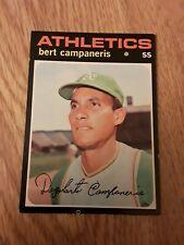 1971 Topps - #440  BERT CAMPANERIS - Oakland Athletics - VgEx+
