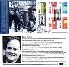 8 OCTOBER 2002 PILLAR TO POST BENHAM FIRST DAY COVER SIGNED BILLY HAYES