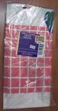 """Party Express Cook Out Paper Table Cover by Hallmark Cards Sealed 54"""" x 89.25"""""""