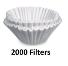 Bunn Brewrite Regular Coffee Maker Filters 12 Cup Commercial White 2000 ct Pack