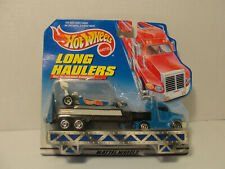 Hot Wheels Long Haulers Racing Team Top Fuel Dragster Truck Trailer 1998