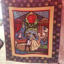 Beauty Belle and the Beast quilt handmade