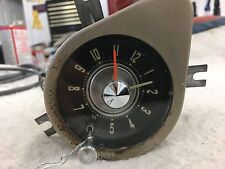 '58 Chrysler Imperial -Original Working Dash Clock - Serviced, Tested, and Nice!