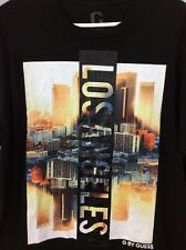 G by Guess  Black Los Angeles Tee Shirt Size XL