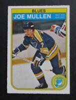 1982-83 O-Pee-Chee Joe Mullen Rookie #307