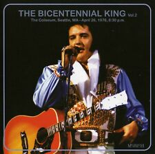 RARE CD IMPORT ELVIS PRESLEY- THE BICENTENNIAL KING II - LIVE SEATTLE AVRIL 1976