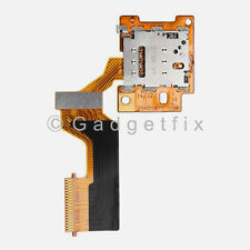 USA Genuine Sim Card Reader Holder Slot Tray Flex Cable Connector For HTC ONE M9