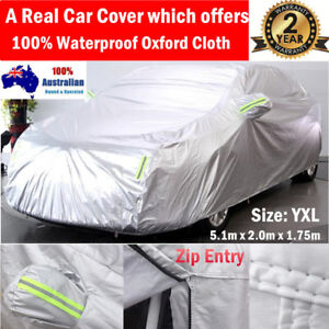 Durable 100% Waterproof Oxford Cloth Car Cover Large fit Volvo XC90 Mazda CX9