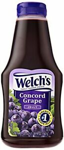 Welch's Concord Grape Jelly 20 Ounce Squeeze Bottle (Pack of 12)