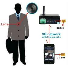 WCDMA 3G button camera GSM SIM Security  Invisible Support 3G Video Call Alarm