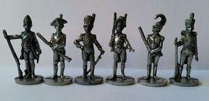 Metalfiguren Set Soldiers Kinder Ferrero Napoleonici 35mm iron