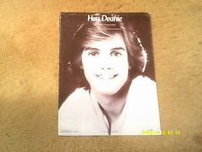 SHAUN CASSIDY Eric Carmen sheet music Hey, Deanie 1977 6 pages (VG+ shape)