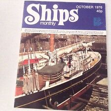Ships Monthly Magazine Newfoundland Schooner Lydia Eva October 1976 062517nonrh2