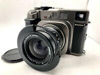 【Nr MINT】 Mamiya 7 Medium Format Film Camera + N 65mm f4 L Lens Hood from JAPAN