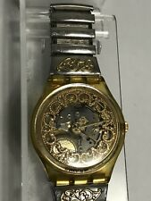 OROLOGIO SWATCH ASETRA GK137 1992 GOLD IRONY VINTAGE RARE