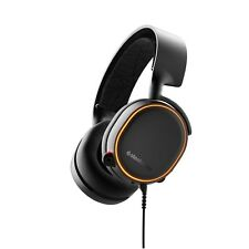 SteelSeries Arctis 5 (2019 Edition) RGB Illuminated Gaming Headset with DTS