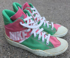 95d9f92eb484 New ListingNIKE Outbreak Rare Original 1987 Canvas Pink   Green Sneakers  Men s Size 9.5