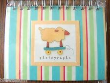 """Pepperpot Pull Toys Photo Album With Built In Desk Top Easel-Holds 24- 4"""" X 6"""" P"""
