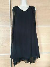 Phard Diamond 100% Silk  Swing Dress Size S
