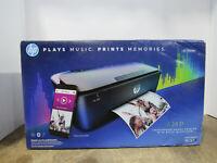 NEW IN BOX HP AMP 100 Smartphone-Ready Color Printer w/ Bluetooth Speaker T8X39A