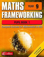 Maths Frameworking: Year 9: Pupil Book 1 by Brian Speed, Keith Gordon, Kevin Eva