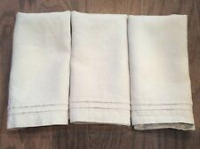 Williams Sonoma Linen Double Hemstitch Napkins 3