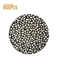 600Pcs Steel Stainless Slingshot Bearing Ammo Ball Hunting Catapult Outdoor Game