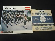 Austria rare Nations of the world ViewMaster Reel set C660 view master
